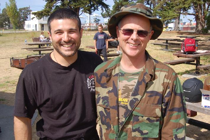 Emmanuel Manolakokis and Robert Burke, Alameda, California 2008