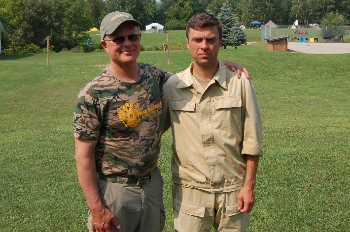 Robert Burke and Konstantin Komarov, Summer Immersion Camp 2008 Canada